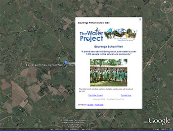 Water Well in Google Earth